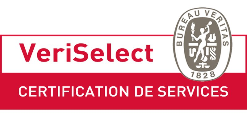 Logo VeriSelect du Bureau Veritas 1828