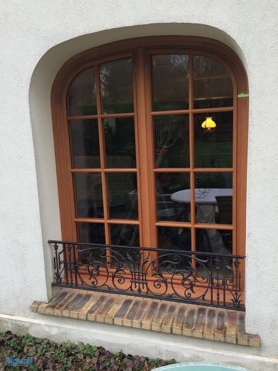 After-restauration fenêtre