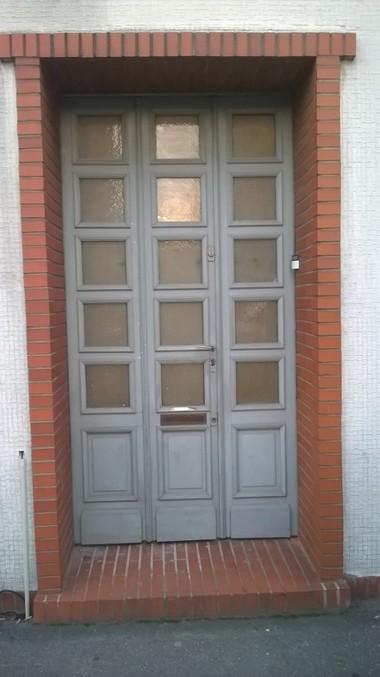 Before-remplacement de porte