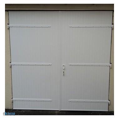 After-une nouvelle porte de garage