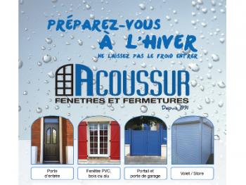 Acoussur fait sa promo dans le journal de Saint-Maur-des-Fossés !