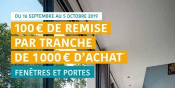 Pour la rentrée, notre partenaire Janneau vous offre 100€ de remise par tranche de 1000€ d'achat.