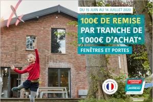100€ de remise du 15 juin au 14 juillet chez Janneau
