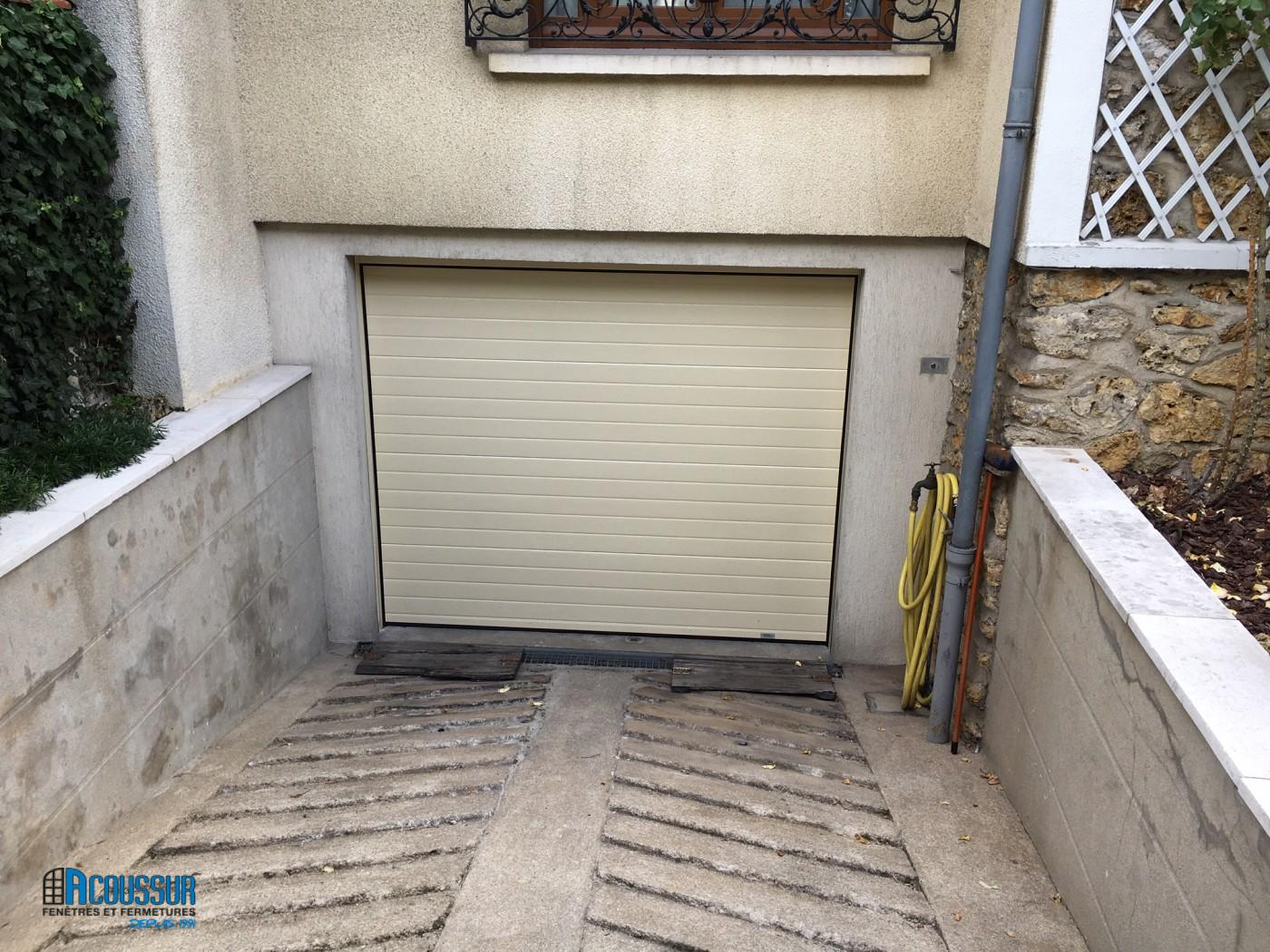 Porte garage France Fermetures