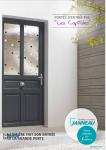 Page de couverture-portes d'entrée PVC les capitales-Janneau