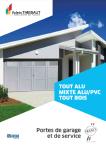 Couverture-Catalogue portes de garage-Thiebault
