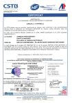 Couverture-Certificat performances thermiques-Janneau