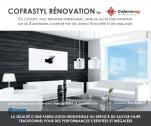 Couverture-Catalogue Cofrastyl rénovation-Coferming