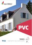 Page de couverture volets battant PVC de chez Thiebaut